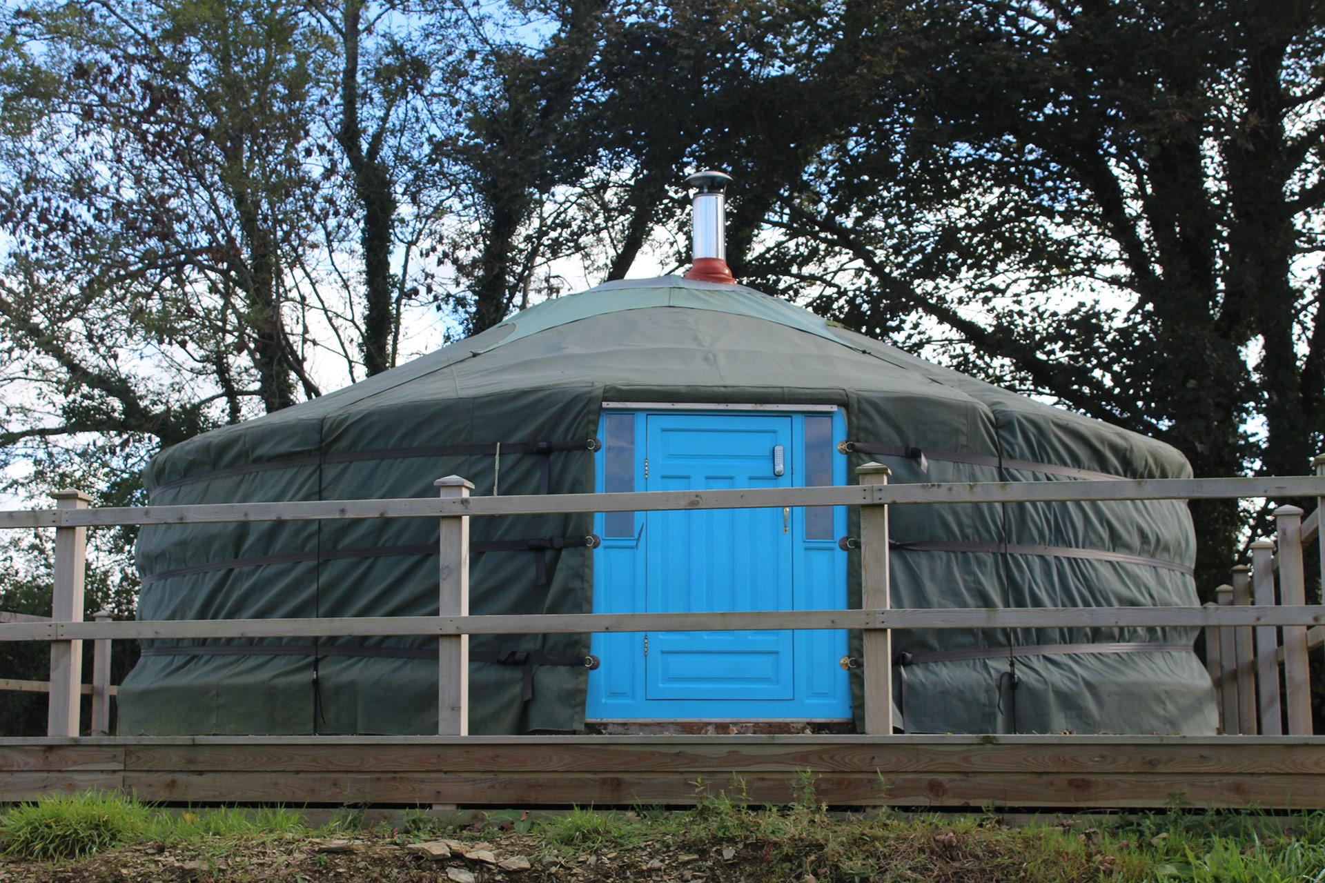 yurt close